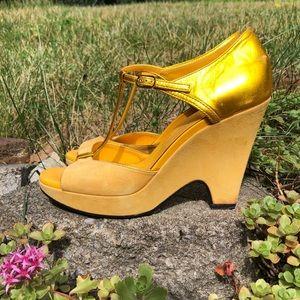 SALE! Tod's Carine Melina platform t-strap sandal